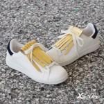 flecos zapatillas dorados par 2018
