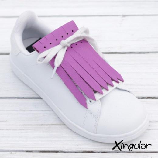 Flecos Zapatillas Púrpura