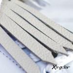 flecos zapatillas beige detalle