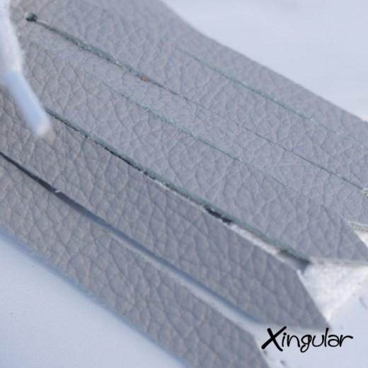 flecos zapatillas gris perla detalle