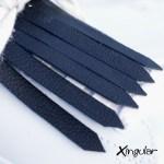 flecos zapatillas negro detalle