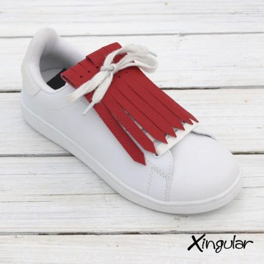 Flecos Zapatillas Rojo Ferrari