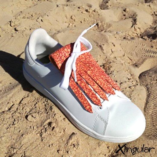 flecos zapatillas murano rojo