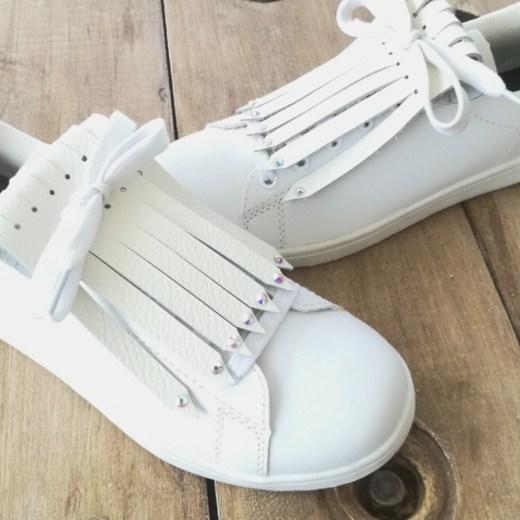 flecos zapatillas swarovski cristal par