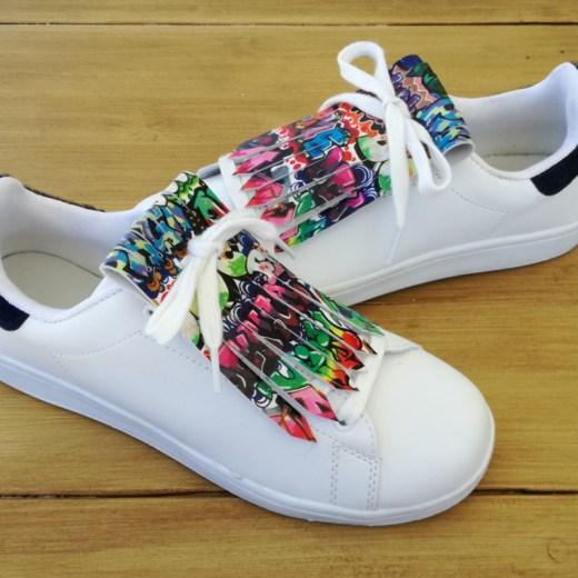 flecos zapatillas graffiti par