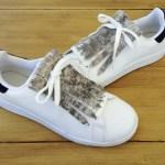 flecos zapatillas serpiente pelo par