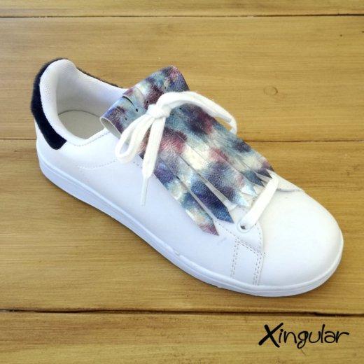 flecos zapatillas holografico