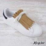 flecos zapatillas marron efecto pana