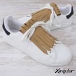 flecos zapatillas marron efecto pana par 2