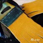 lengüetas zapatos camuflaje detalle