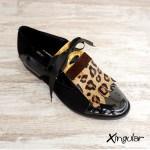 lengüetas zapatos leopardo