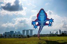 新加坡市中心的天际线,中间是滨海湾金沙酒店。 (Sim Chi Yin/VII, for The New York Times)