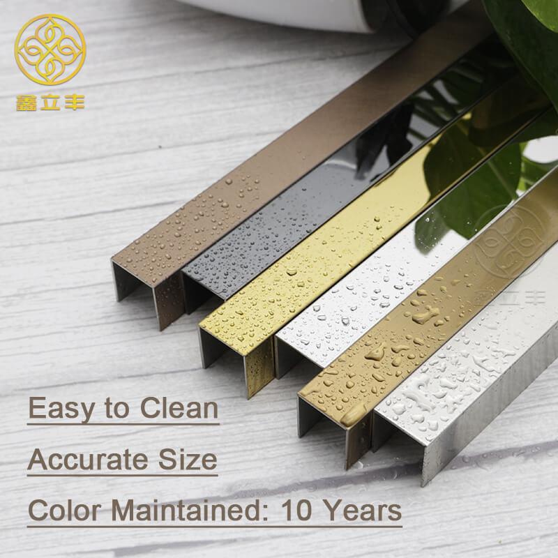 brass corner trim brass tile edging