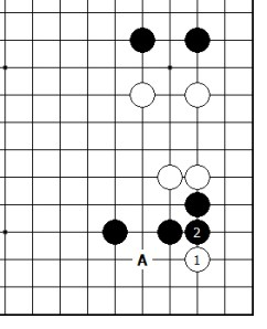 Diagram 13 - Black Strongest Move