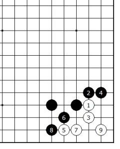 Diagram 6 - White lives Gote
