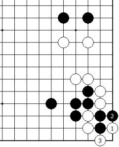 Diagram 4 - White Tesuji