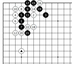 Diagram 9 - White not bad