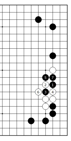 Diagram 8 - White big loss