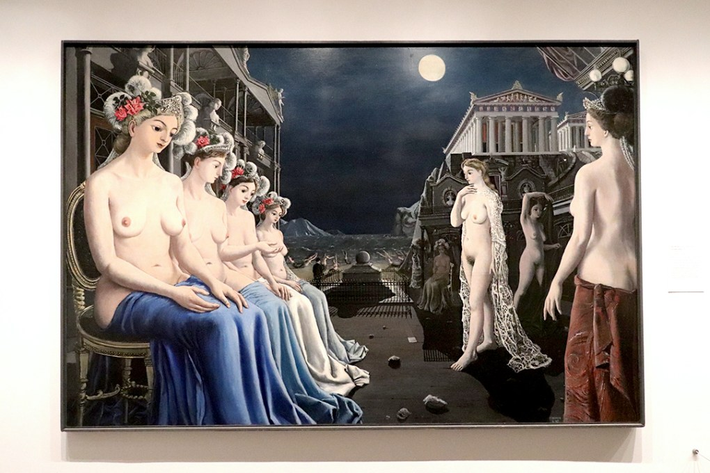 Paul Delvaux, The Great Sirens (1947)