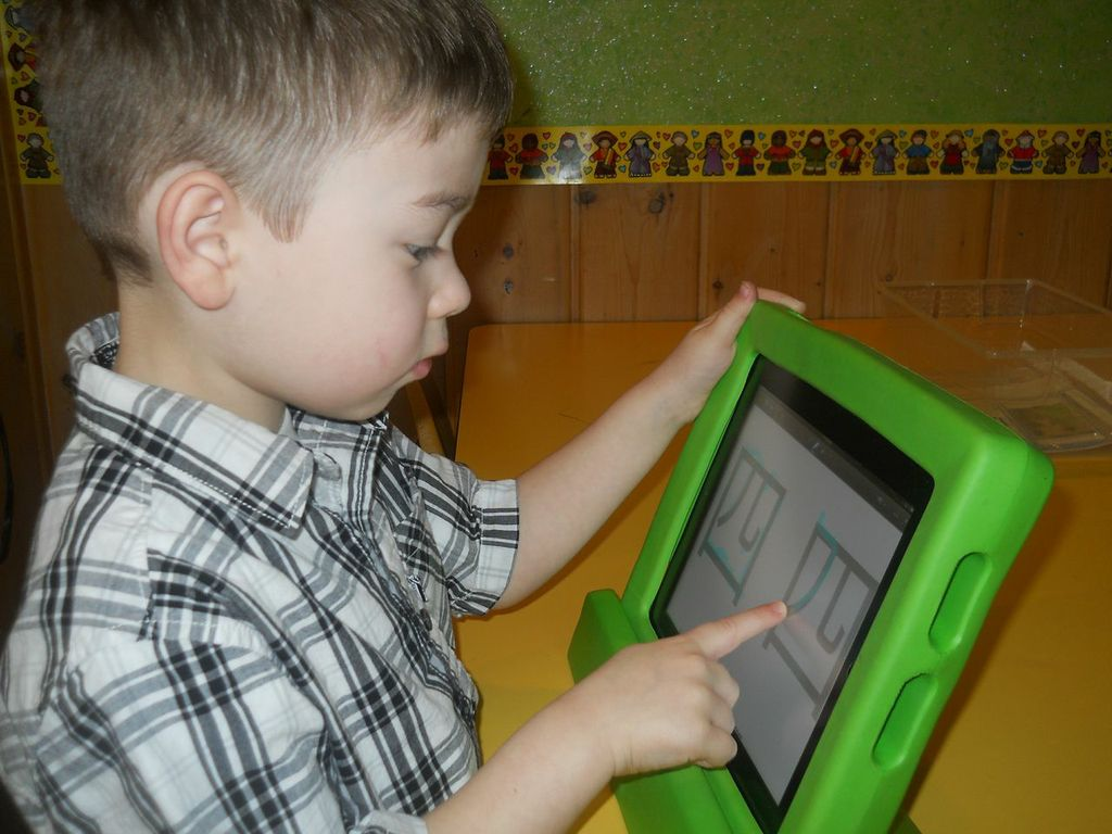 Learning Chinese Characters At Preschool