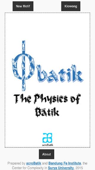phyBatik: Fractal Batik