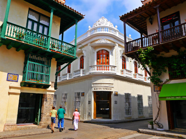 Dove alloggiare a Cartagena, Colombia - Città Murata