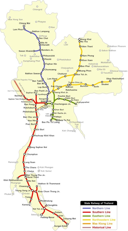 Viajar En Tren Por Tailandia Y Comprar Billetes De Tren Online