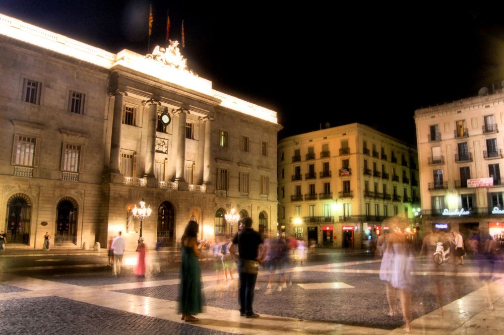 Casco antiguo de Barcelona - Plaça Sant Jaume