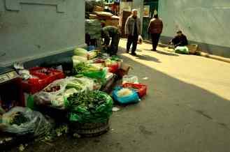 Shanghai - Mercado improvisado