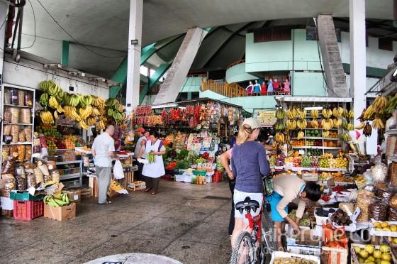 Entrada del mercado
