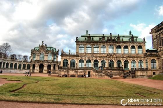 Palacio Zwinger de Dresde - Jardines