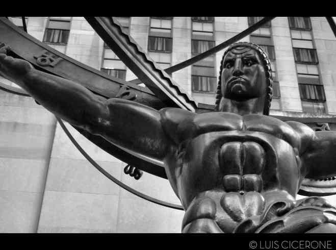 El atlas del Rockefeller Center.