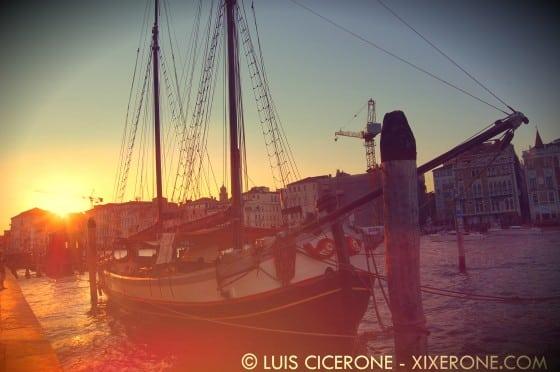 Atardecer en Venecia