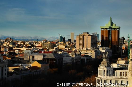 Vista Norte de Madrid
