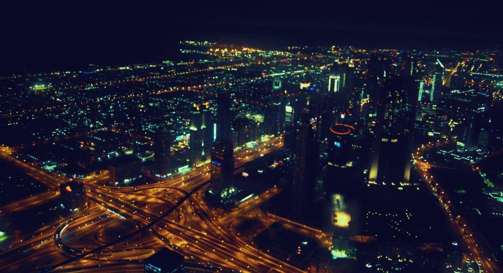 Vistas desde el mirador del Burj Khalifa