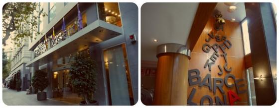 Hotel Roselló Evenia fachada y recepción