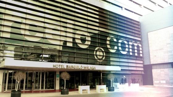 Fachada Hotel Barceló Málaga