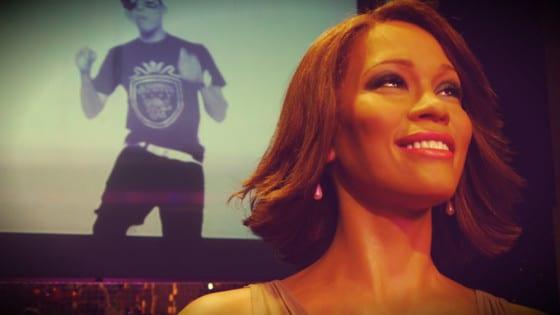 Whitney Houston en el Madame Tussauds
