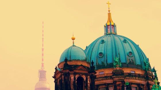 Catedral de Berlín y Torre de la TV