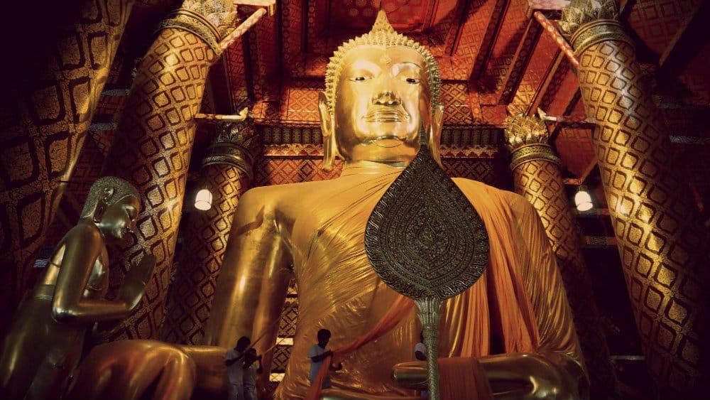 Buda Wat Phanan Choeng