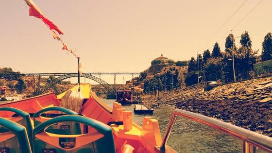 Puente de Dom Luis desde el río