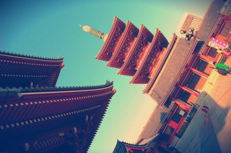 Templo en Tokio
