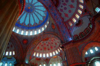 Interior Mezquita Azul