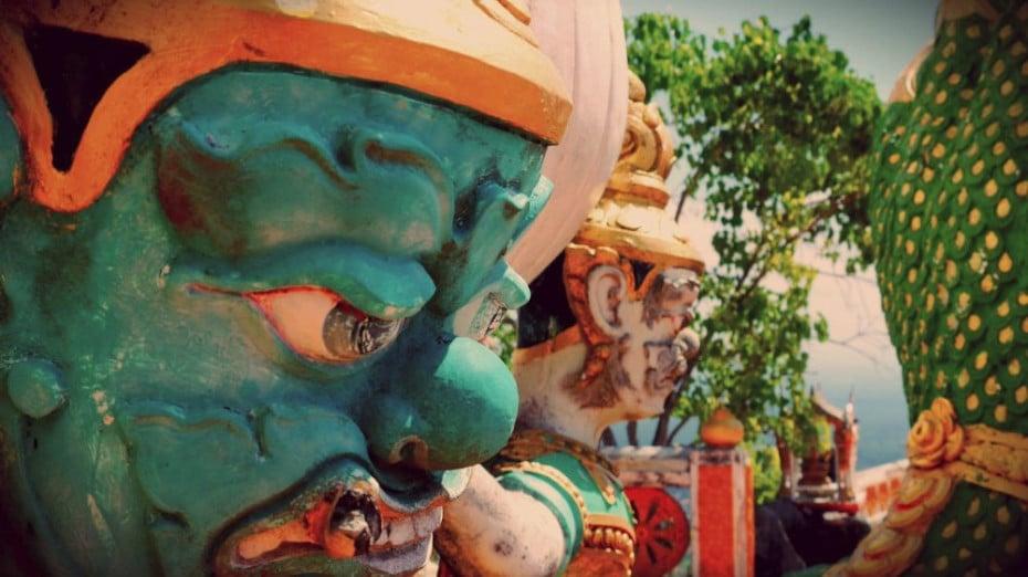 Templo de la Cueva del Tigre - Krabi