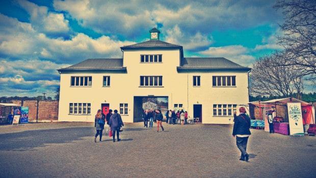 Campo de Concentración de Sachsenhausen - Entrada