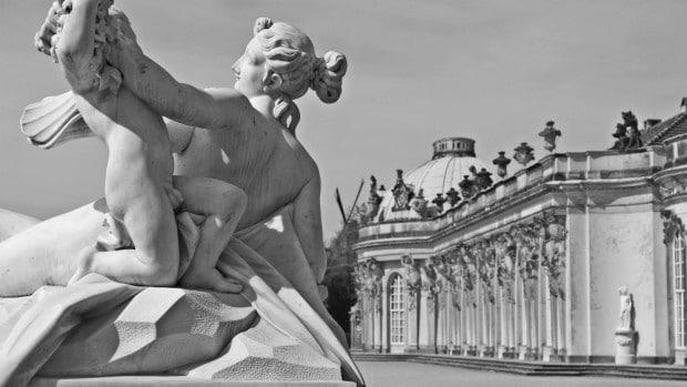 Estatuas en Sanssouci