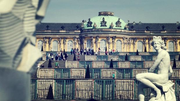 Jardines de Sanssouci - Palacio en Postdam