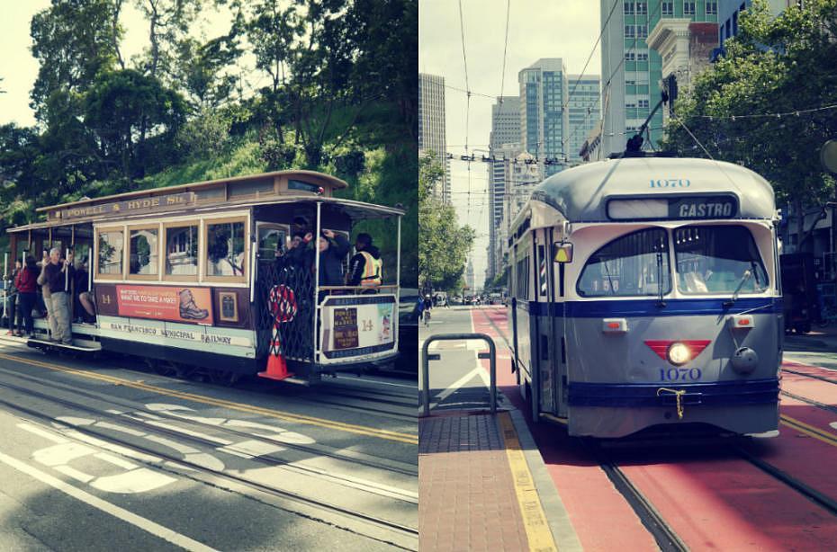 Tranvías (Tram y Streetcar) - Actividades en San Francisco