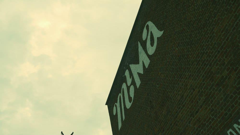 Pared exterior MIMA Bruselas