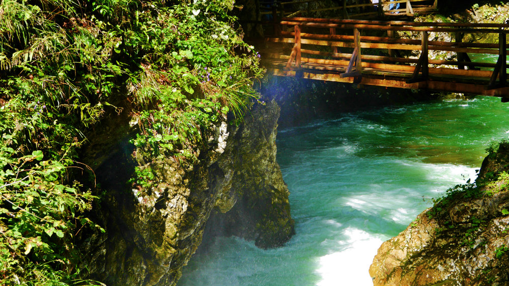 Vintgar Gorge, Eslovenia